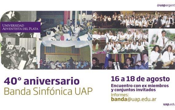 40° Aniversario de la Banda Sinfónica